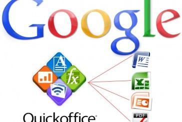 گوگل اپلیکیشن Quickoffice را به صورت رایگان عرضه کرد