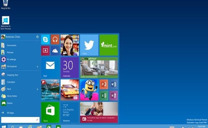 عرضه ویندوز ۱۰ با امکانات امنیتی ویژه