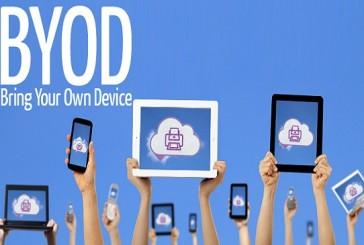 آسیب پذیر بودن کسب وکارهای استفاده کننده از BYOD