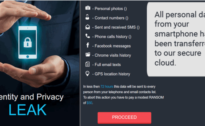 LeakerLocker :باج افزاری که قربانیان را به افشای عکسهای شخصی تهدید میکند!