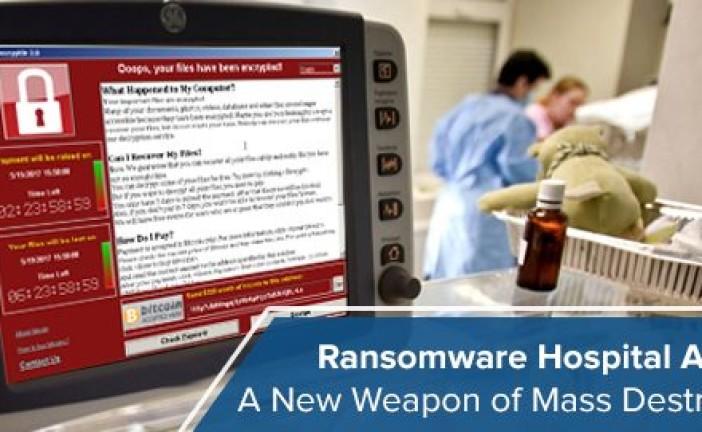 بیمارستانها، هدف اصلی باجگیران اینترنتی