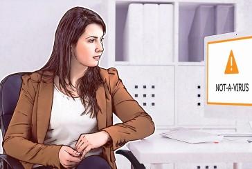 پیغام امنیتی Not-a-Virus بر روی سیستم بیانگر چه چیزی است؟